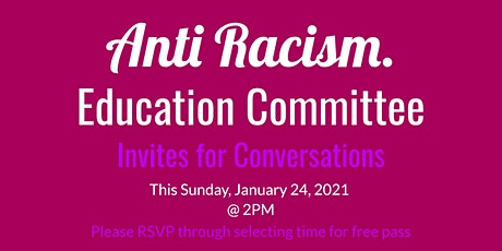 Anti Racism Conversations tickets