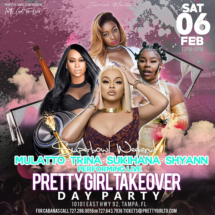 Pretty Girl Takeover Super Bowl Day Party image