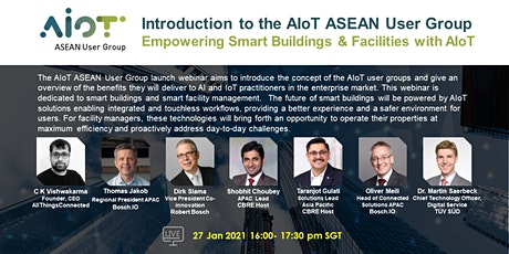 AIoT ASEAN User Group Launch Event| Empowering Smart Buildings & Facilities tickets