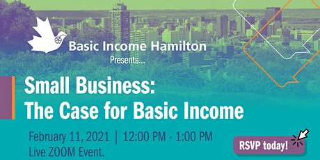 Small Business: The Case for Basic Income tickets