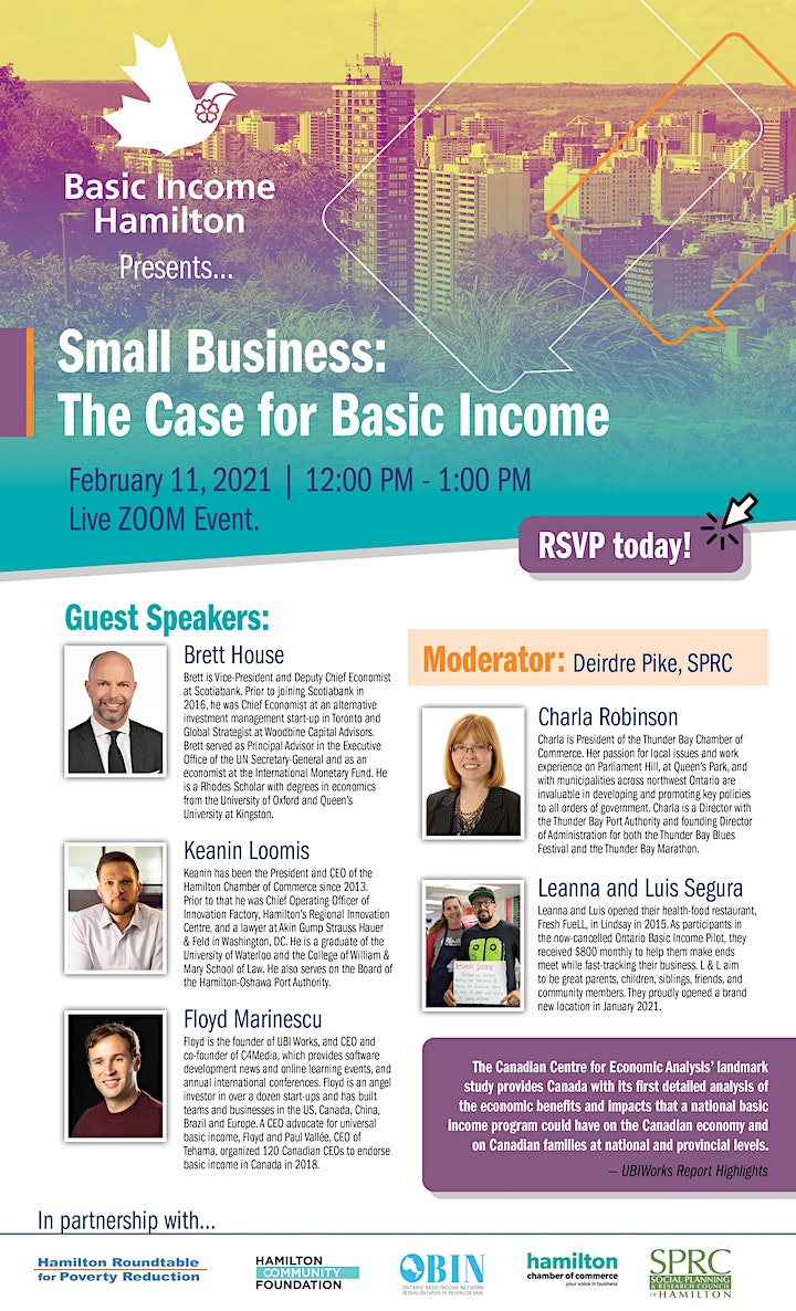 Small Business: The Case for Basic Income image