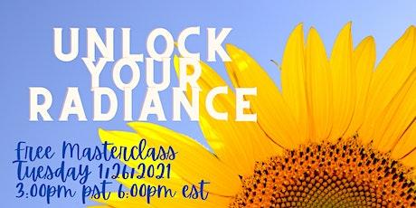 Unlock Your Radiance tickets