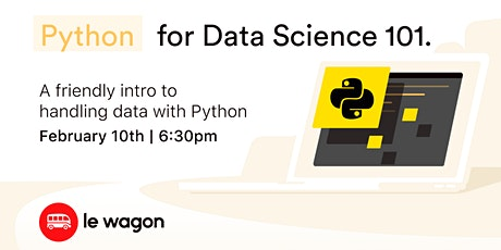 Python for Data Science 101 tickets