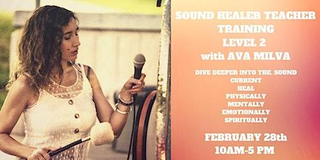 Sound Healer Teacher Training Level 2 tickets