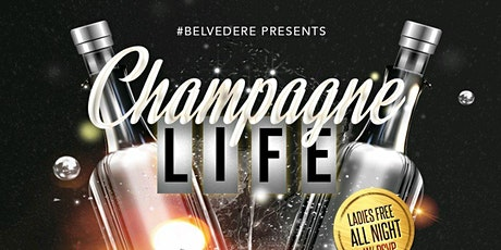Champagne Life Fridays // Free Hookah // Free Section tickets
