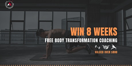 Win 8 Weeks Free Body Transformation Coaching tickets