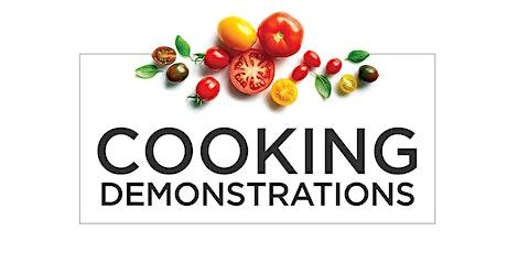 Siemens Cooking Demo tickets