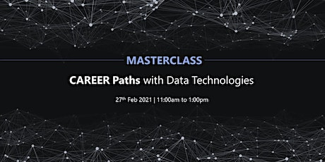 #MASTERCLASS- Career Paths with Data Technologies tickets
