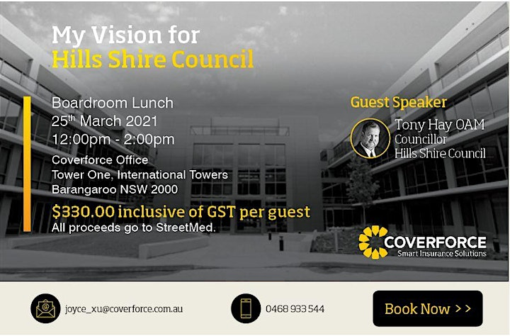 My Vision for Hills Shire Council image