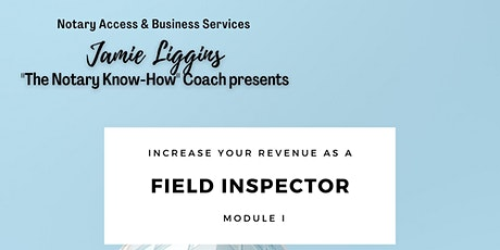 How to Become a FIELD INSPECTOR? tickets