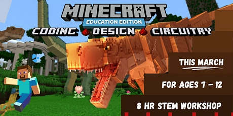 Minecraft Coding Workshop (March 2021) tickets