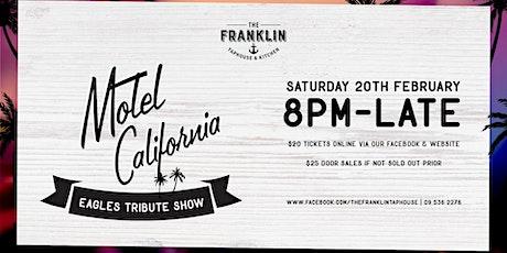 Motel California - Eagles Tribute show tickets