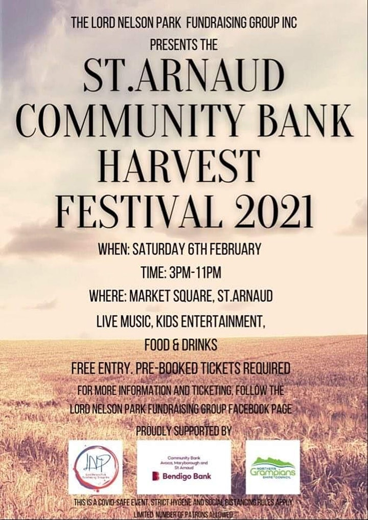 St.Arnaud Community Bank Harvest Festival image