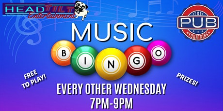 Music Bingo Every Other Wednesday at The Pub Fountains tickets