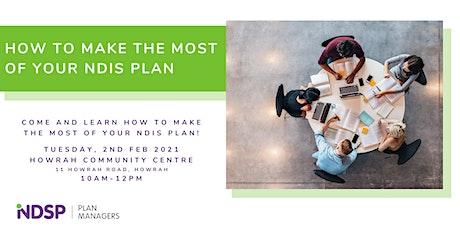 NDIS Plan Workshop in Howrah, TAS tickets