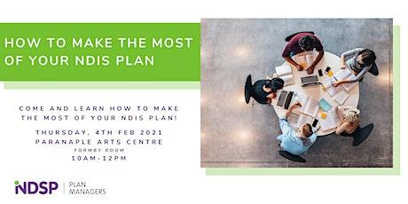 NDIS Plan Workshop in Devonport, TAS tickets