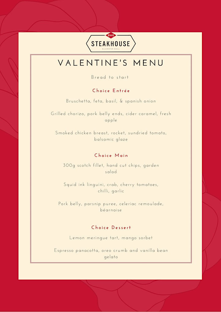 Valentine's Day Lunch & Live Music image