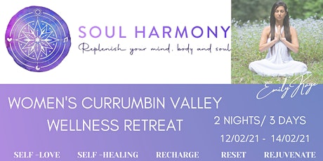 Copy of WOMENS  CURRUMBIN VALLEY WELLNESS RETREAT tickets