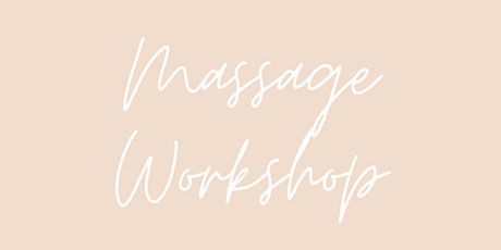 Massage Workshop tickets
