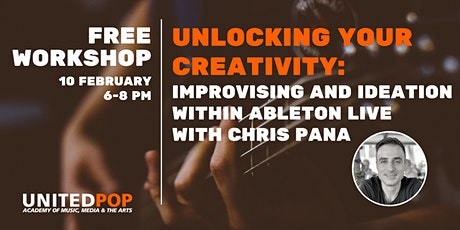 Unlocking Your Creativity  | Free Online Ableton Live Workshop tickets