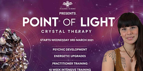 Copy of Point Of Light Crystal Therapy 2021 tickets