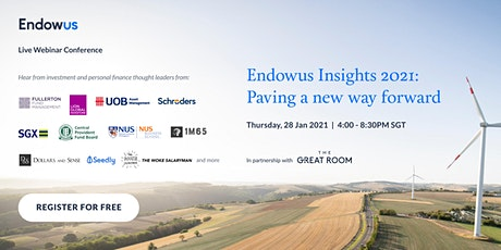 Endowus Insights 2021: Paving a new way forward tickets