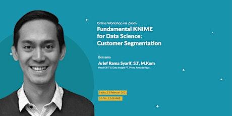 Fundamental KNIME for Data Science : Customer Segmentation tickets