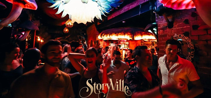 Friday Socials Party (Shot included), at STORYVILLE! image
