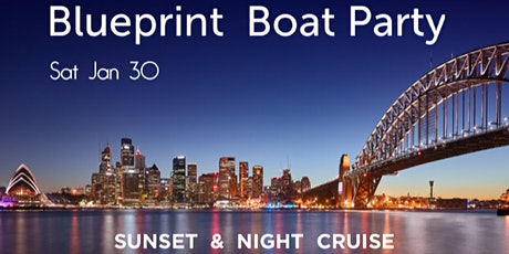 Blueprint Boat - Sunset & Night Cruise-	Sat Jan 30 tickets