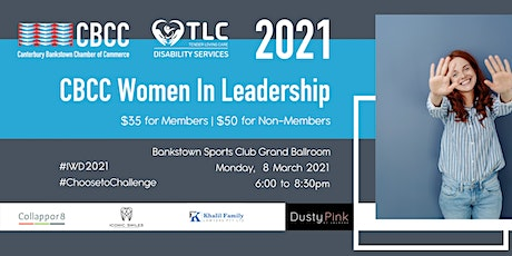 CBCC 2021 Women In Leadership tickets