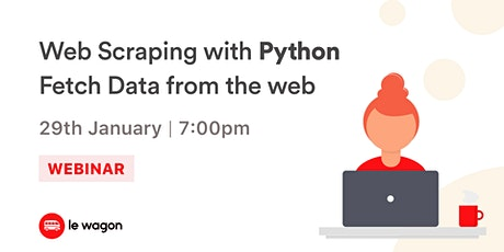 [Webinar] Web Scraping with Python - Free Workshop tickets