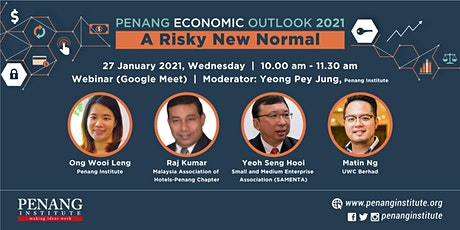 Penang Economic Outlook 2021: A Risky New Normal tickets