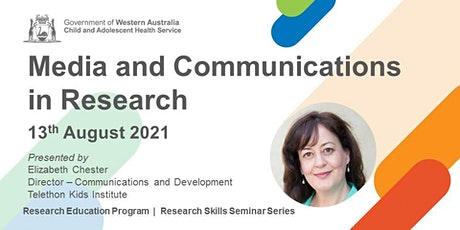 Media and Communications in Research - 13 Aug tickets