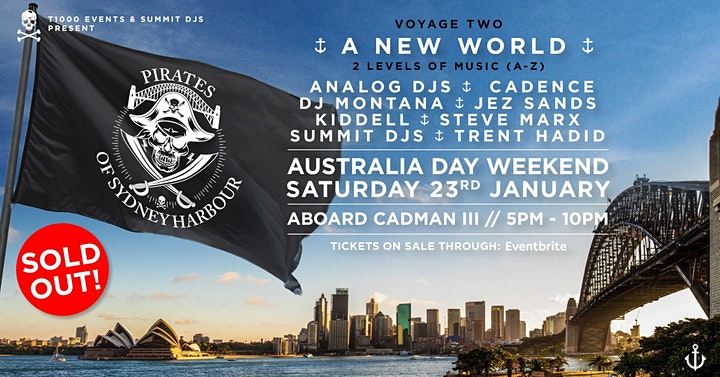 Pirates Of Sydney Harbour -  A New World image