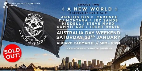 Pirates Of Sydney Harbour -  A New World tickets