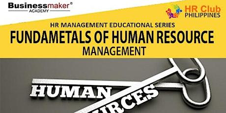 Live Webinar: Fundamentals of Human Resource Management tickets