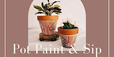 Pot Paint & Sip tickets