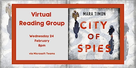 Virtual Reading Group - February 2021: 'The City of Spies' tickets