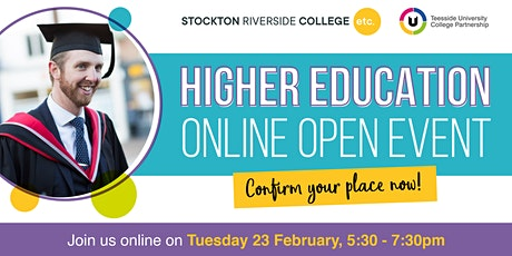 Stockton Riverside College Higher Education Online Open  Event tickets