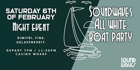 SoundWaves All White Boat Party XIII (NIGHT EVENT) tickets