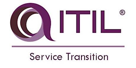ITIL - Service Transition (ST) 3 Days Training in Dunedin tickets