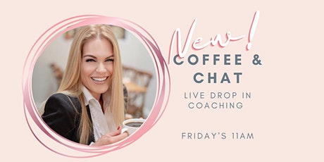 Spiritual Coffee & Chat - Drop In  Live Coaching With Penelope Silver tickets