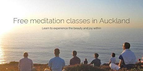 Free Meditation Intensive - Mt Eden/Kingsland tickets