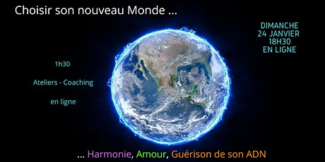 """Atelier """"Choisir son nouveau monde"""" avec Marvin et Myriam billets"""
