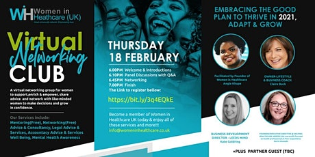 A must-attend -Embracing the Good, Plan to Thrive in 2021, Adapt and Grow tickets