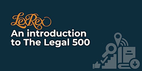 An introduction to The Legal 500 tickets