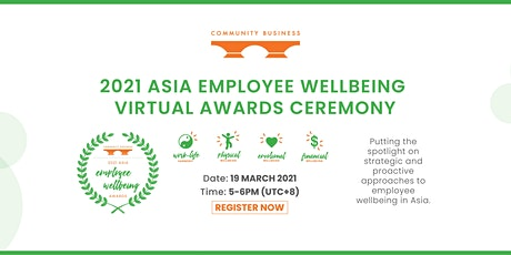 2021 Asia Employee Wellbeing Virtual Awards Ceremony tickets