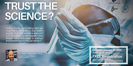 Trust the Science? tickets