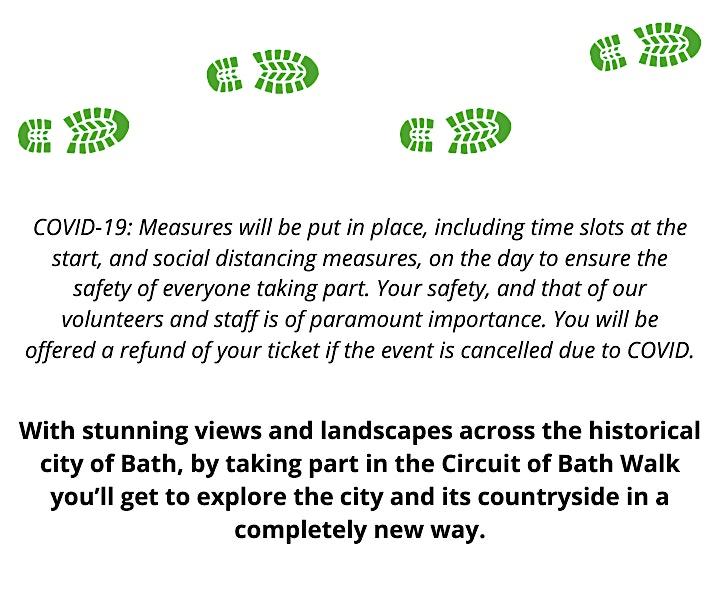 Circuit of Bath Walk - April 2021 image
