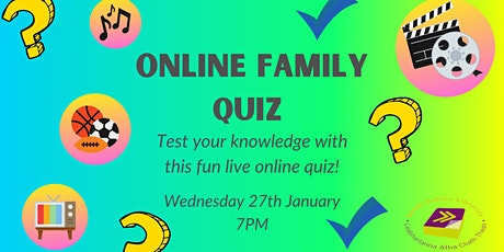 South Dublin Libraries Online Family Quiz! tickets